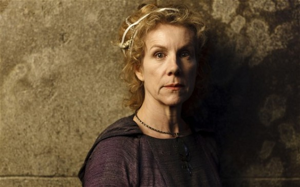 Juliet Stevenson plays Oracle in the BBC fantasy drama Atlantis. Photo Credit: BBC