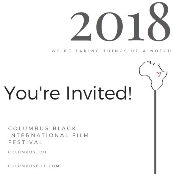 CBIFF 2018 Invite