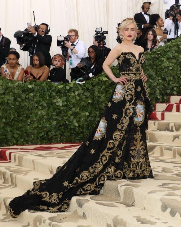 Emilia Clarke Met Gala 2018